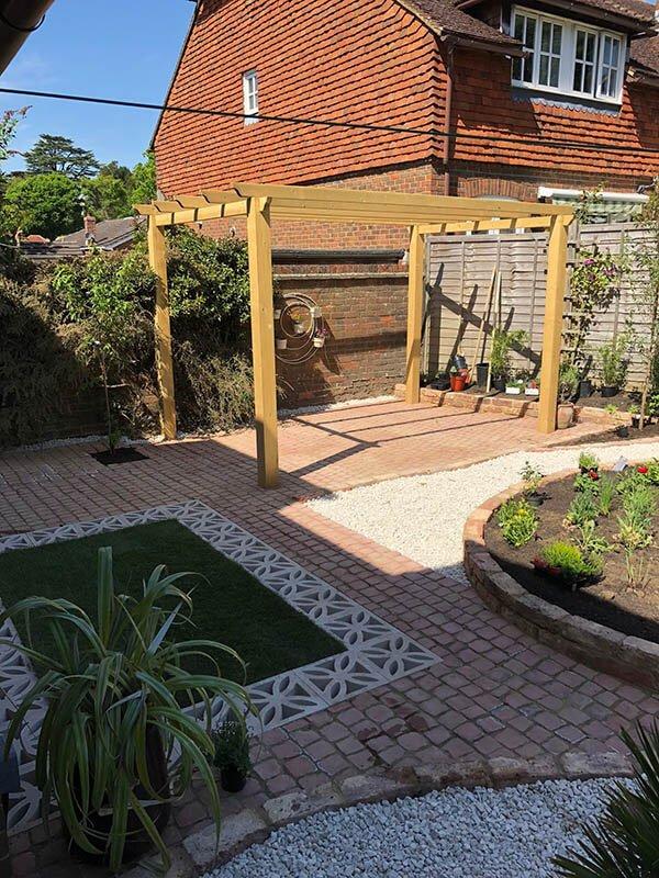 garden transformation 1